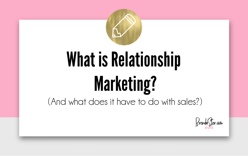What is Relationship Marketing?