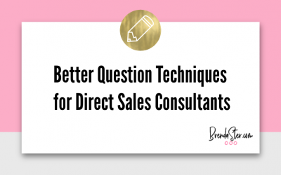 Better Question Techniques for Direct Sales Consultants