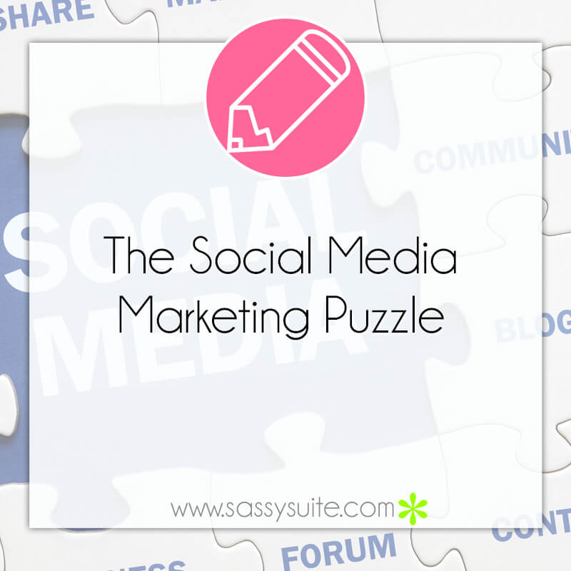 The Social Media Marketing Puzzle