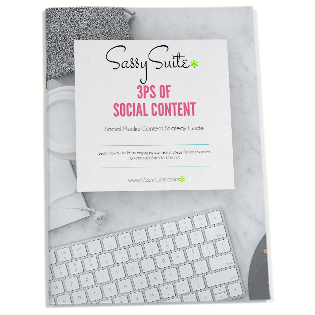 Create a social media marketing strategy with the 3Ps of Social Content - Free ebook!