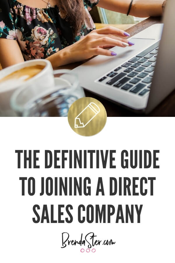 The Definitive Guide to Joining a Direct Sales Company blog title overlay
