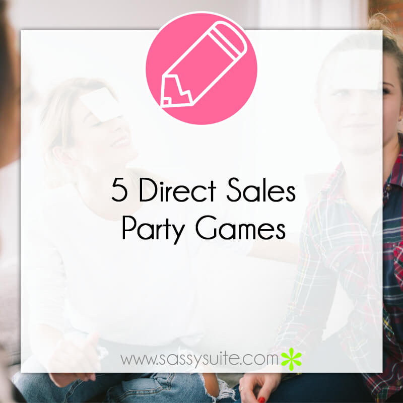 5 Direct Sales Party Games
