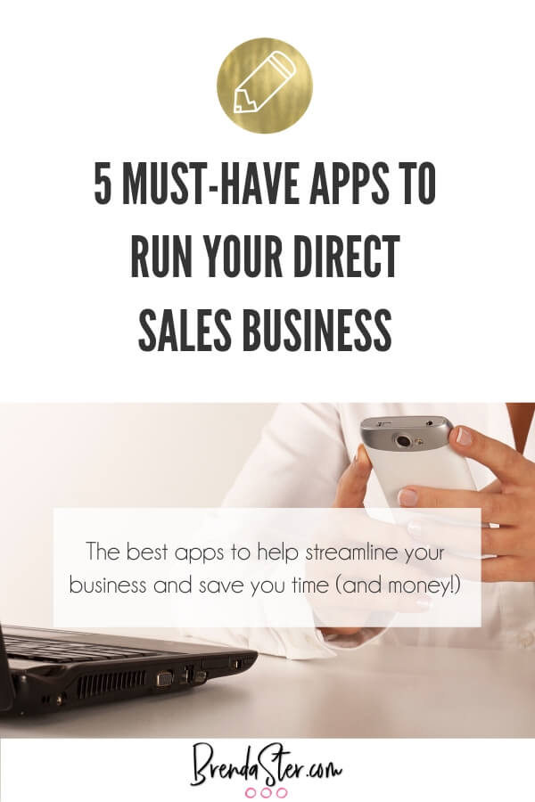 5 Must-Have Apps to Run Your Direct Sales Business blog title overlay