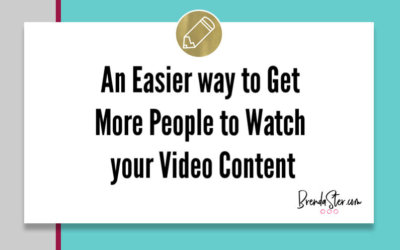 An Easier way to Get More People to Watch your Video Content