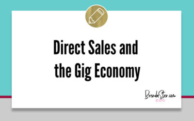Direct Sales and the Gig Economy