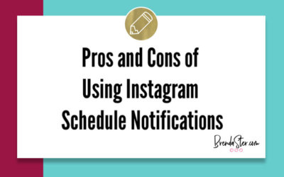 Pros and Cons of Using Instagram Schedule Notifications
