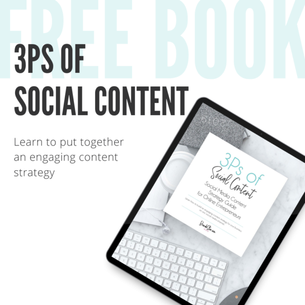 3Ps EBook Mockup Ad for Site