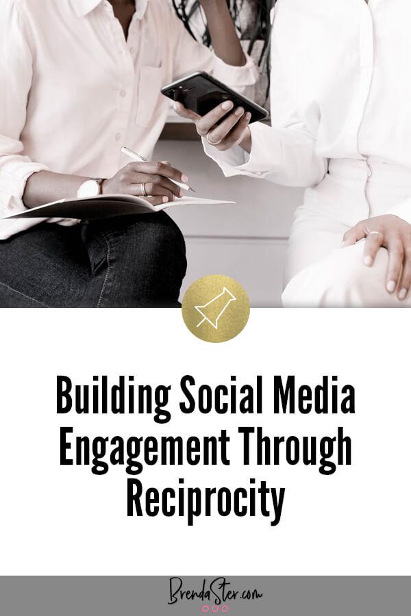 Building Social Media Engagement Through Reciprocity blog title overlay