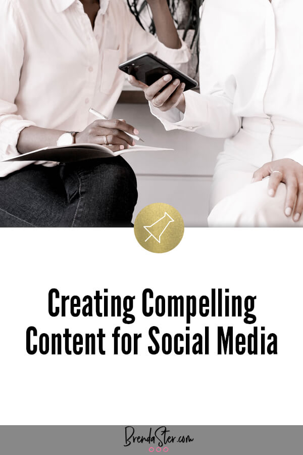 Creating Compelling Content for Social Media blog title overlay