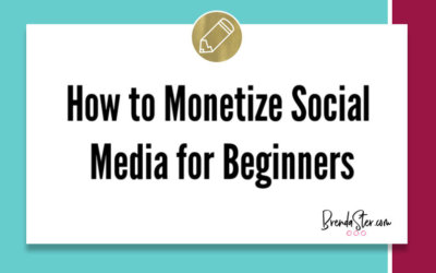 How to Monetize Social Media for Beginners