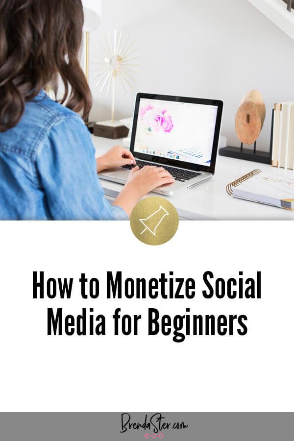 How to Monetize Social Media for Beginners blog title overlay