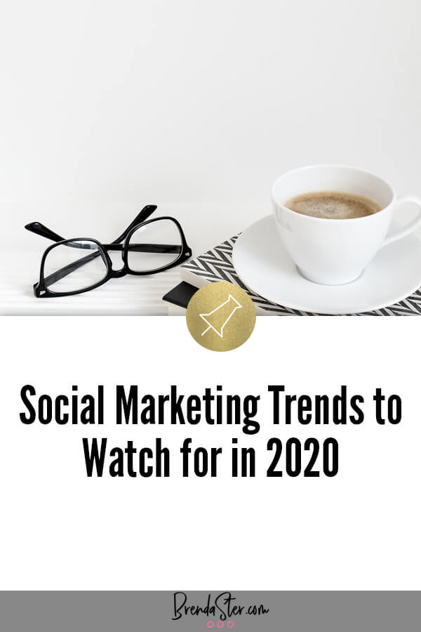 Social Marketing Trends to Watch for in 2020 blog title overlay