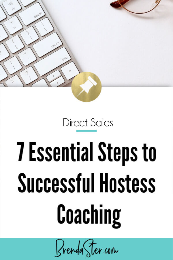 7 Essential Steps to Successful Hostess Coaching blog title overlay
