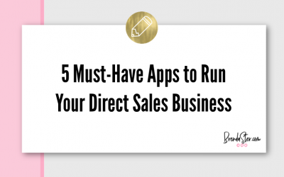 5 Must-Have Apps to Run Your Direct Sales Business