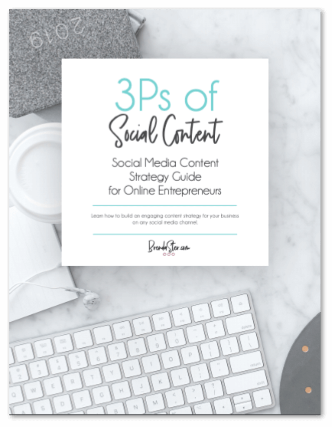 3Ps of Social Content - Free E-Book blog post image