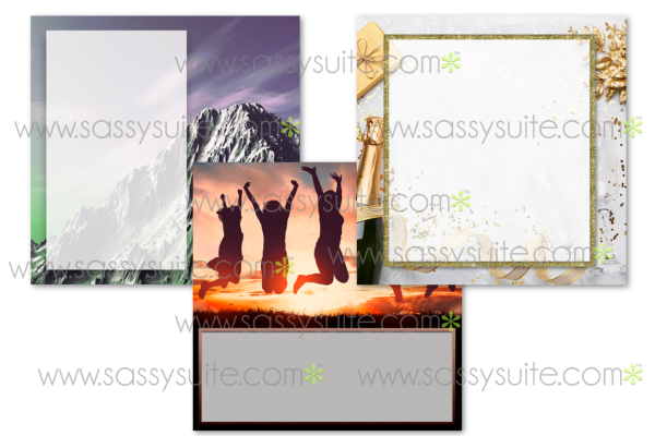 Blank Social Media Graphics Product Image
