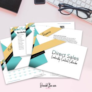 Direct Sales Leadership Done For You Calendar Product Mockup
