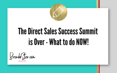 After The Direct Sales Success Summit – 7 Things to do NOW!