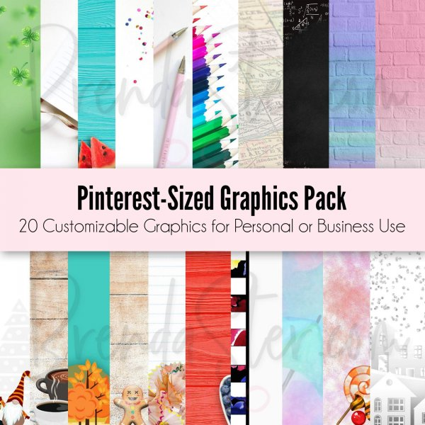 Pinterest Optimized Graphic Templates blog post image