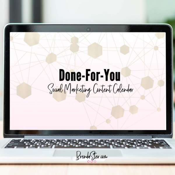 Done-For-You Monthly Content Calendar Subscription blog post image