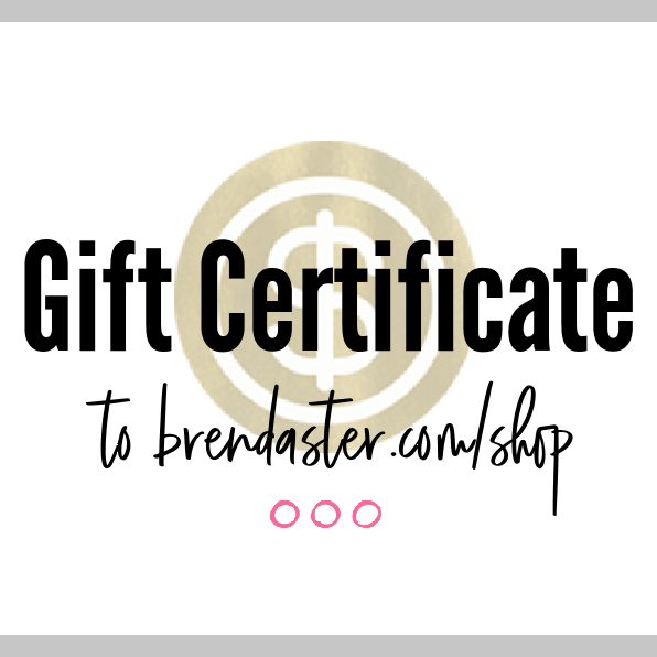 Gift Certificate, $15-$100 blog post image