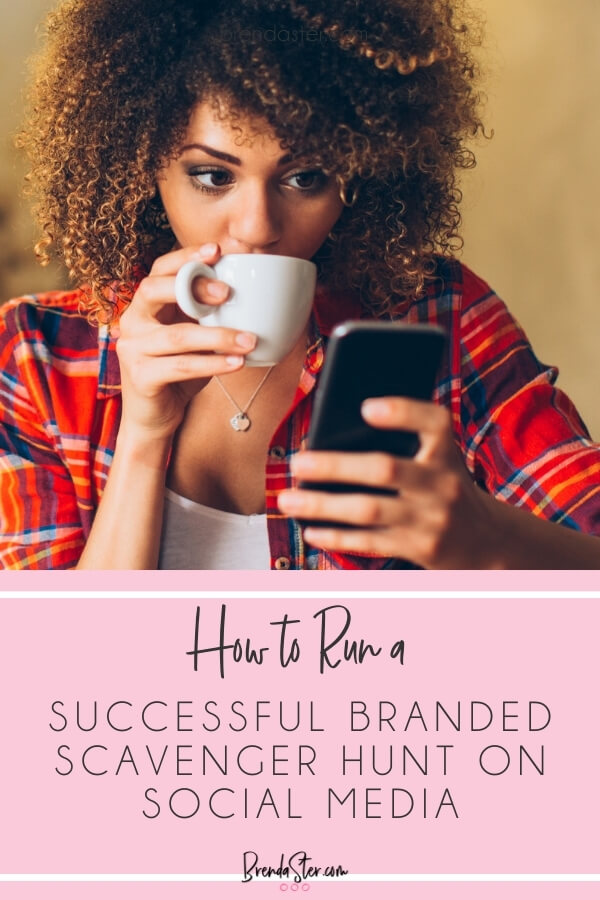 How to Run a Successful Branded Scavenger Hunt on Social Media blog title overlay