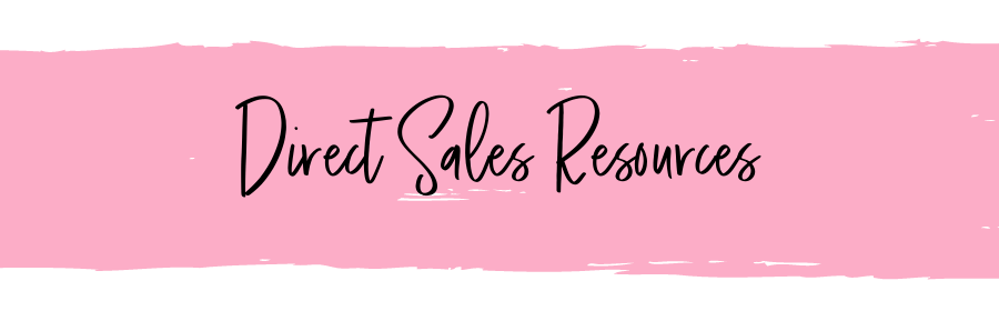 Direct Sales Resources Page Heading