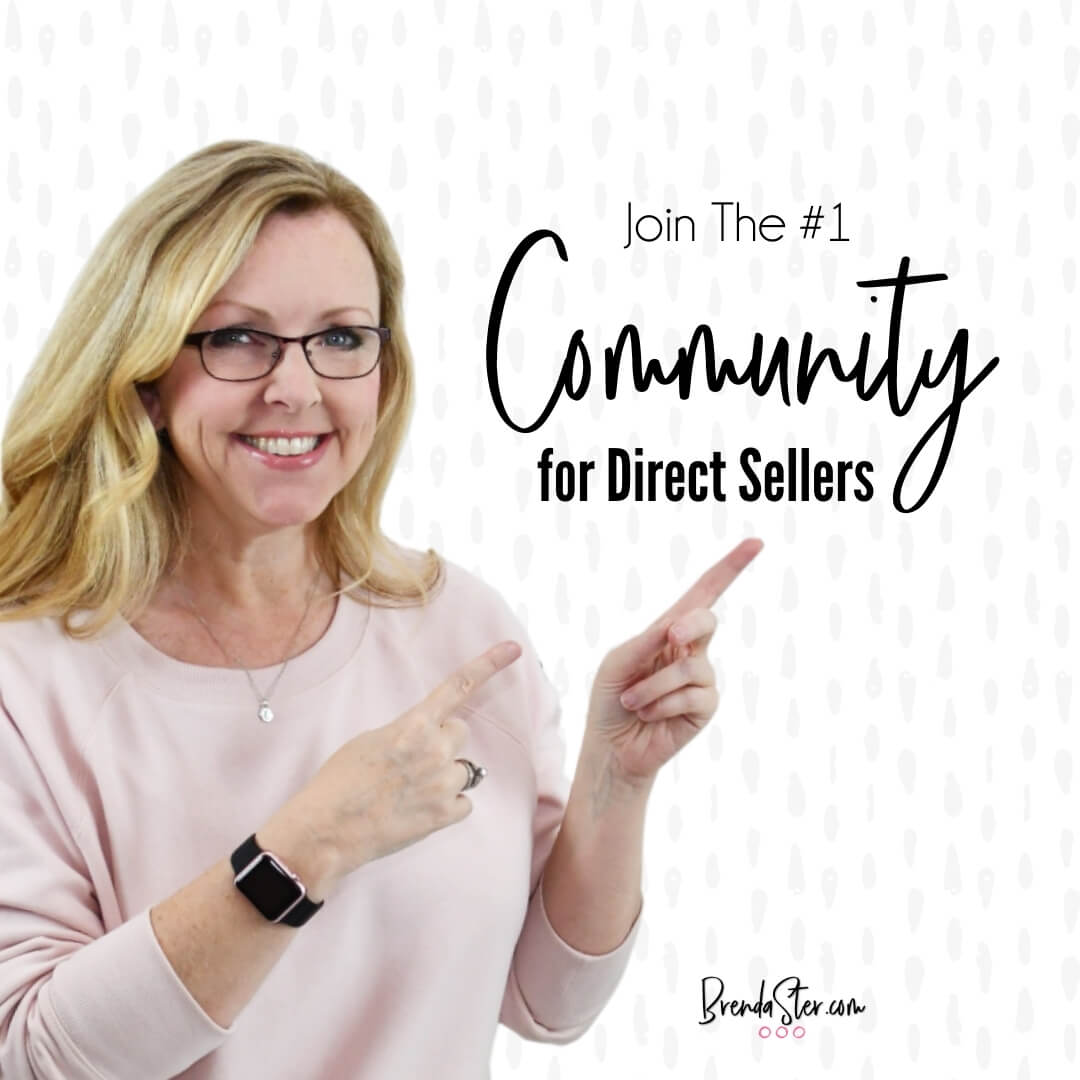 Invitation to join the free Social Media Marketing for Direct Sellers group on Facebook