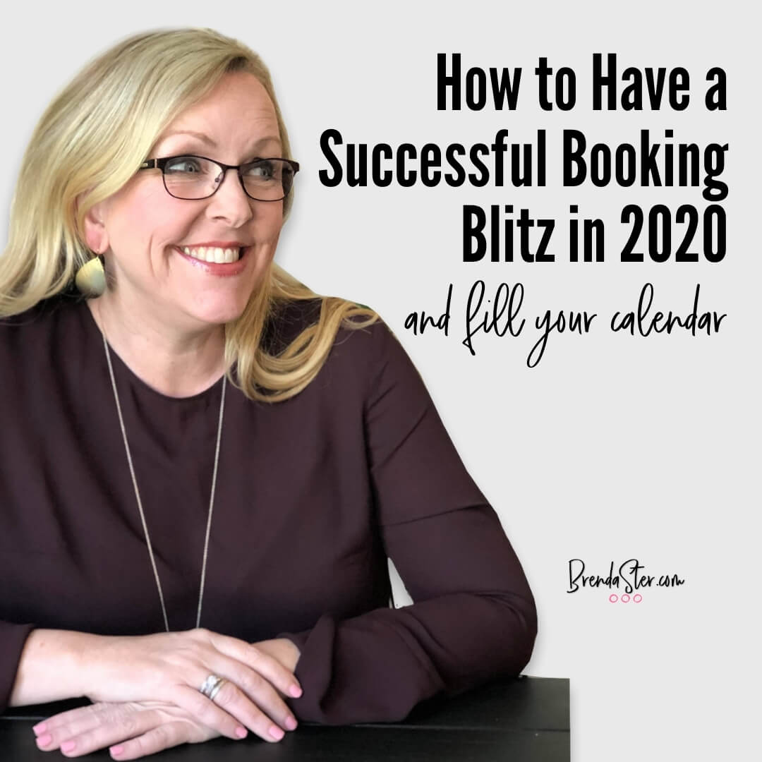 How to Have a Successful Booking Blitz in 2020 blog title overlay
