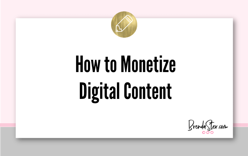 How to Monetize Digital Content: 4 Steps to Making Money Online