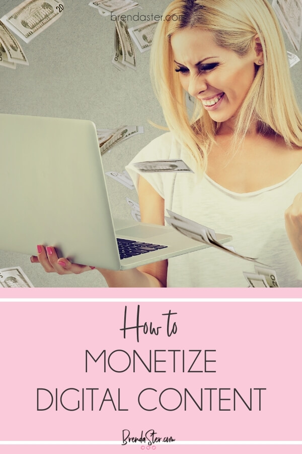 How to Monetize Digital Content blog title overlay