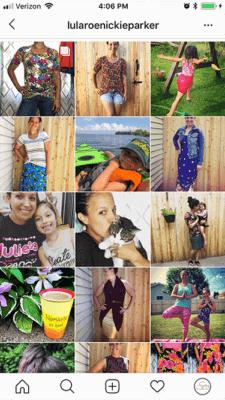 Instagram screenshot similar filter