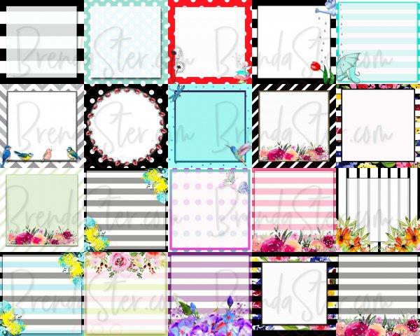 Social Media Graphics - Themed Blank Template Packs blog post image