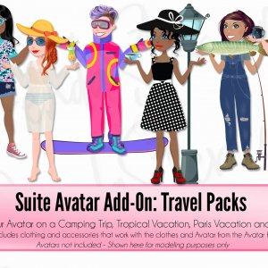 Suite Avatar Add-On: Clothing Packs blog post image