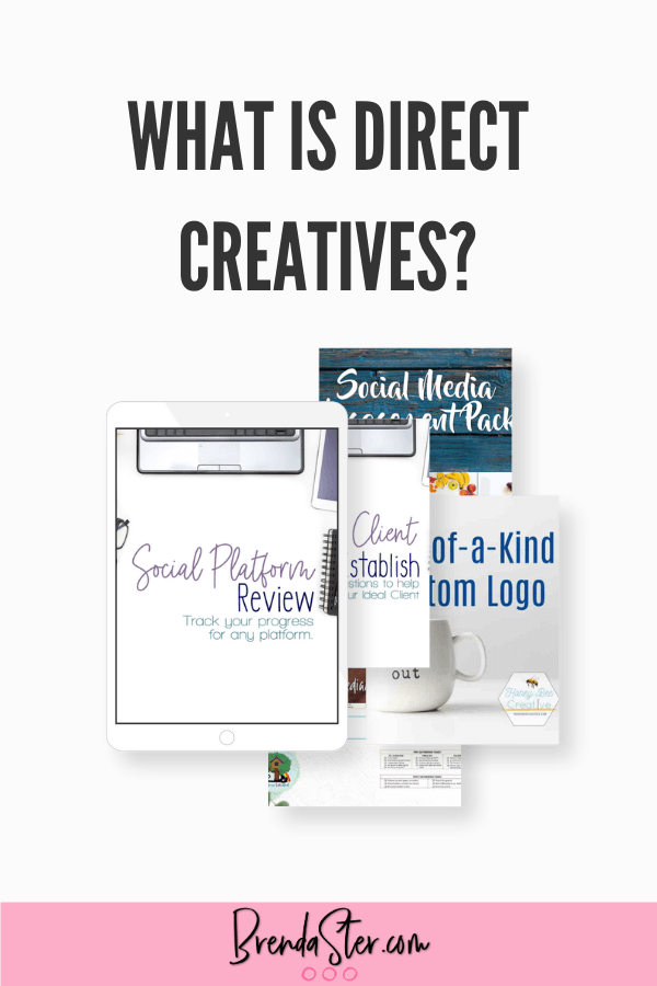 What is Direct Creatives blog title overlay