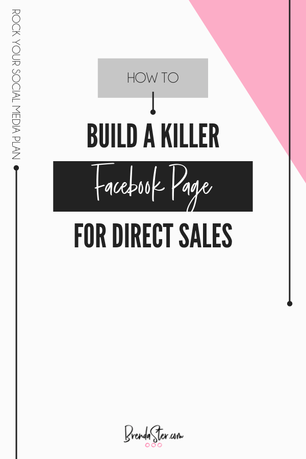 Build a Killer Facebook Page for Direct Sales blog title overlay