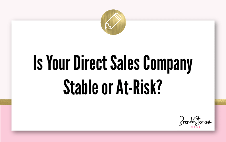 Is Your Direct Sales Company Stable or At-Risk?