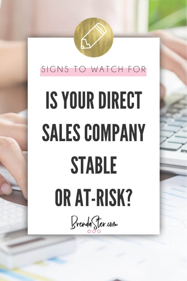 Is Your Direct Sales Company Stable or At-Risk? blog title overlay