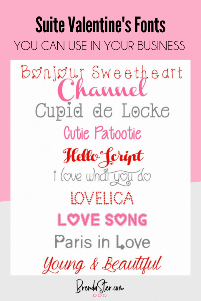Valentine's Day Fonts We Love blog post image