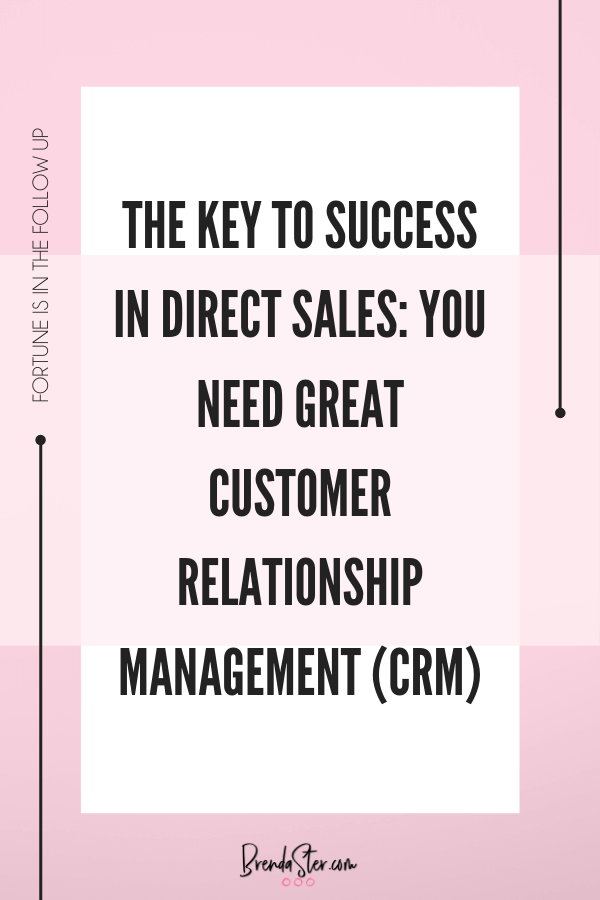 The Key to Success in Direct Sales: You Need Great Customer Relationship Management (CRM) blog post image