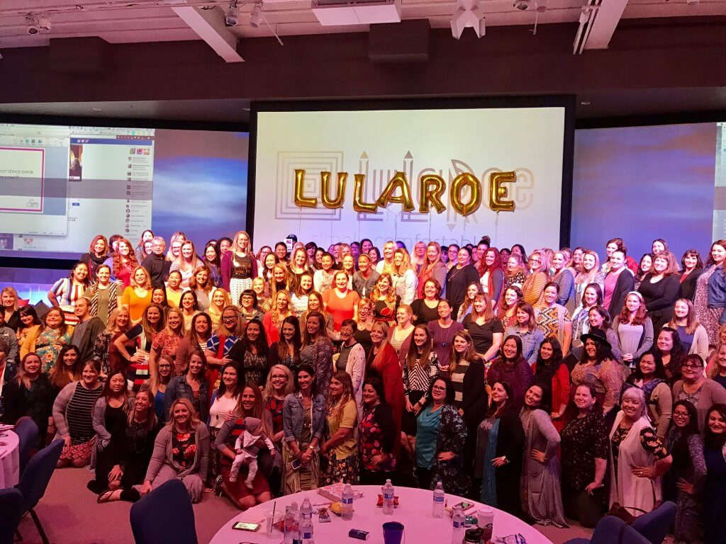 My thoughts on LuLaRich - Brenda Ster at a LuLaRoe Training Event